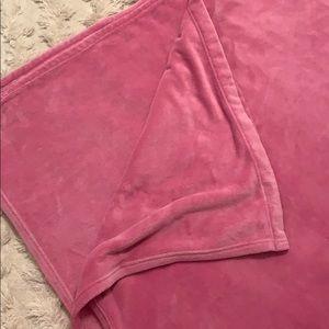 Pottery Barn Kids Full Blanket - Bright Pink